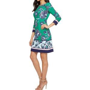 NWOT Vince Camuto Printed Dress Sz 4